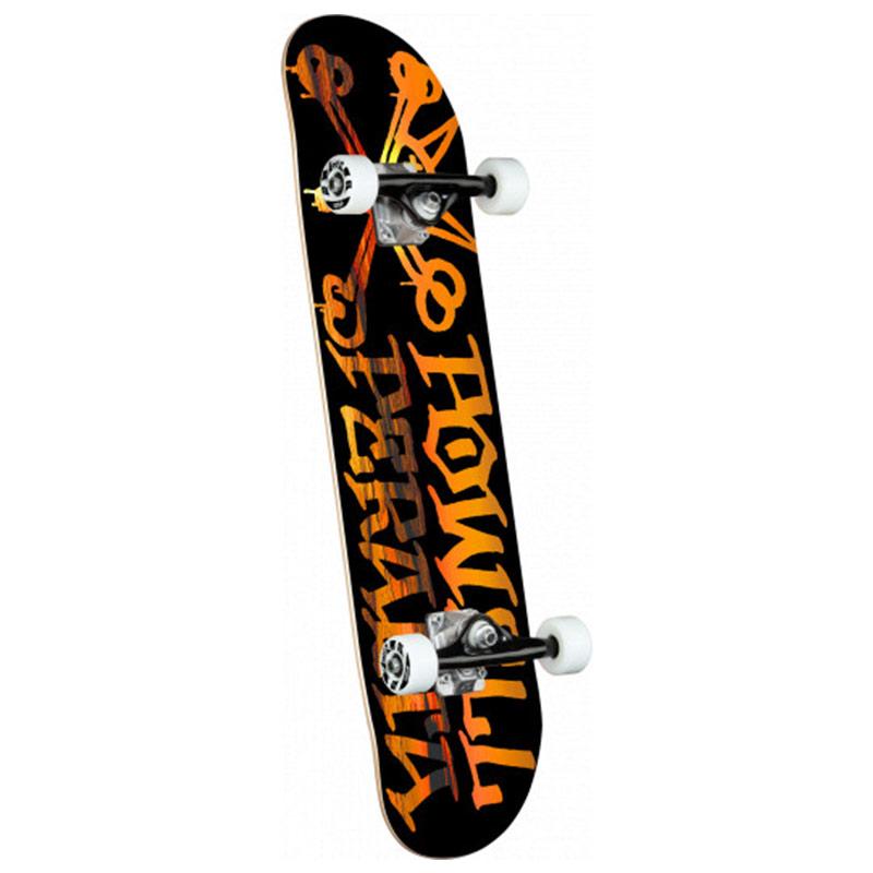 Powell Peralta Vato Rat Sunset Complete Skateboard Shape 191 Black 7.5