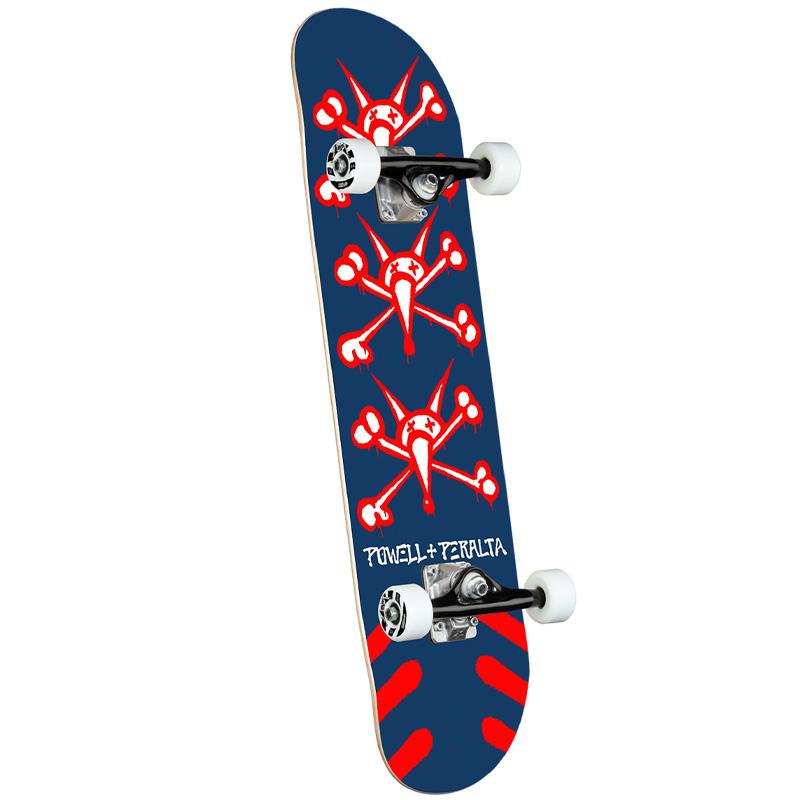 Powell Peralta Vato Rats Complete Skateboard Shape 243 Navy 8.25