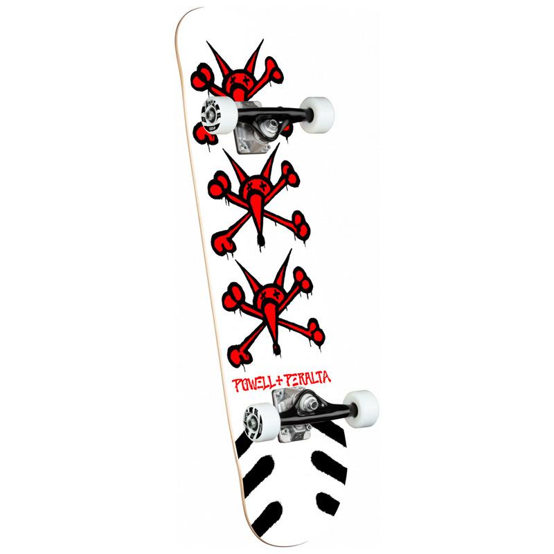 Powell Peralta Vato Rats Complete Skateboard Shape 243 White 8.25