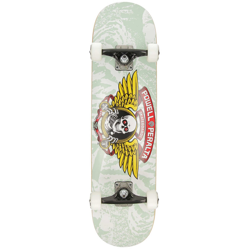Powell Peralta Winged Ripper Complete Skateboard Shape 242 White 8.0