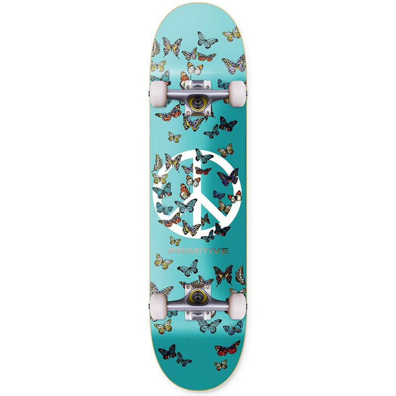 Primitive Codes Complete Skateboard Teal 8.0