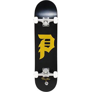 Primitive Dirty P Complete Skateboard Black/Gold 7.625