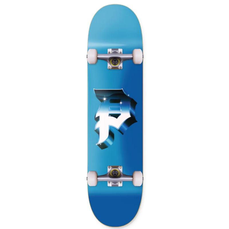 Primitive Dirty P Heavy Weight Complete Skateboard Blue 7.3