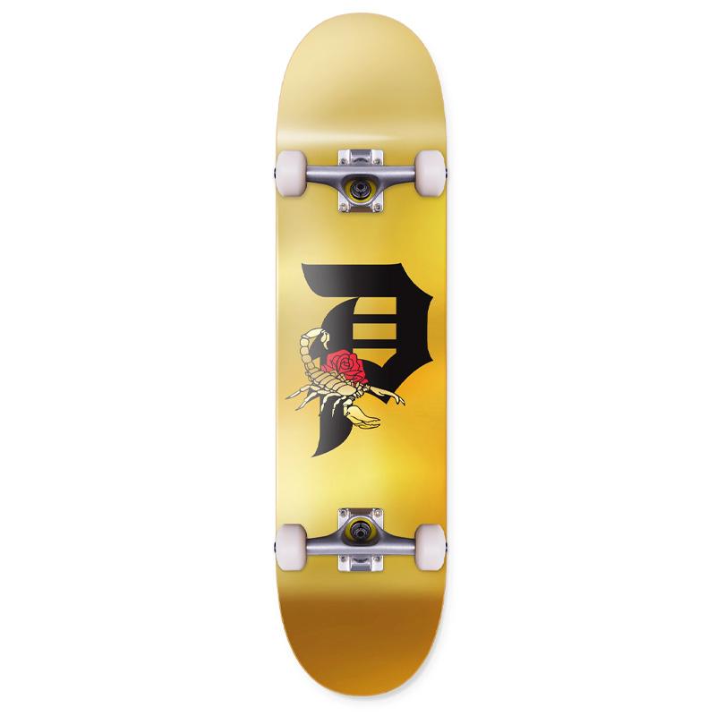 Primitive Dirty P Scorpion Complete Skateboard 7.75