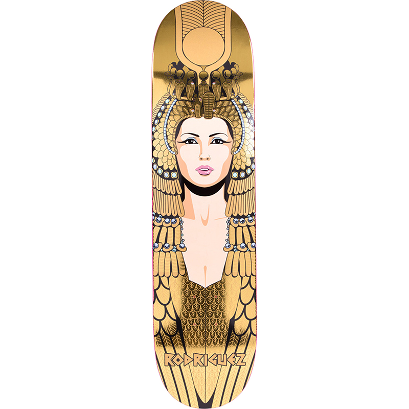 Primitive Rodriguez Cleopatra Complete Skateboard Gold 7.75