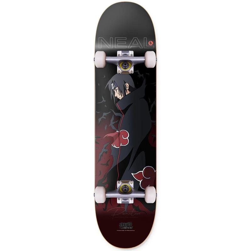 Primitive x Naruto Neal Crows Complete Skateboard 8.0
