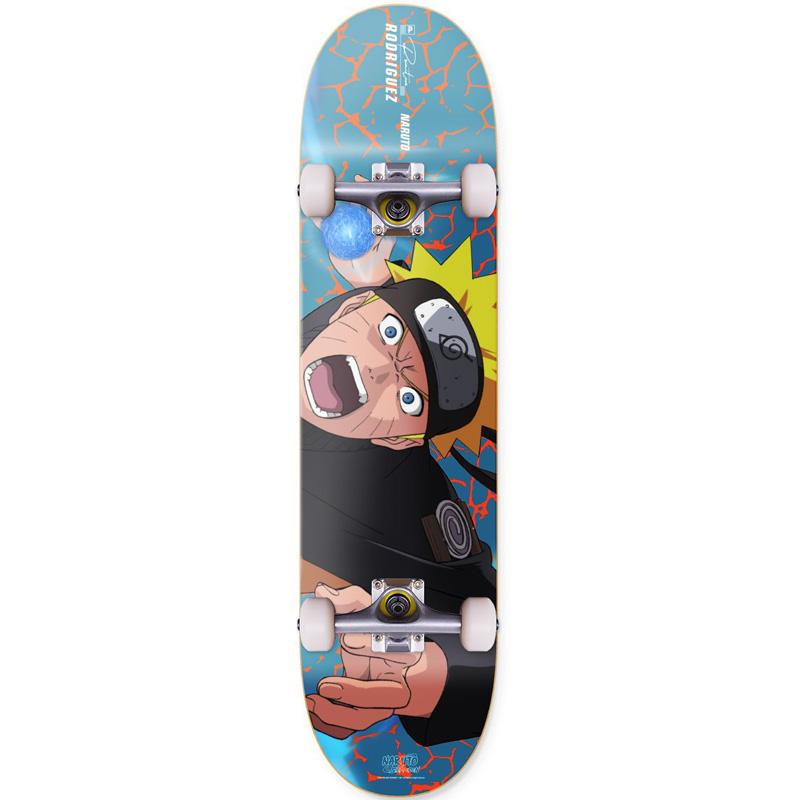 Primitive x Naruto Rodriguez Combat Complete Skateboard 8.0