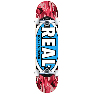Real Awol Ovals Large Complete Skateboard 8.0