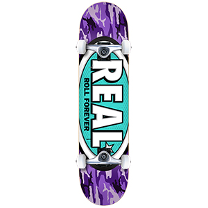 Real Awol Ovals Medium Complete Skateboard 7.75