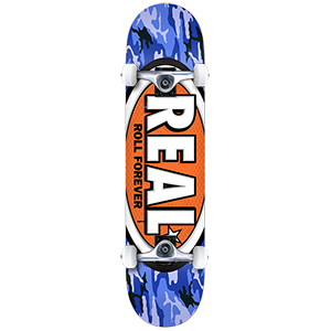 Real Awol Ovals Mini Complete Skateboard 7.38