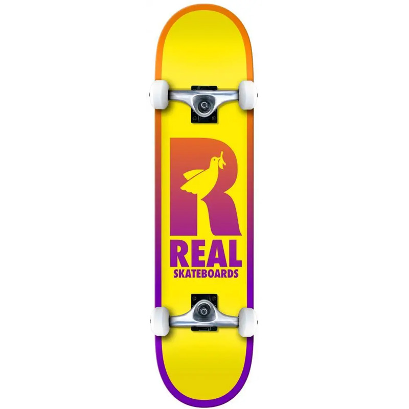 Real Be Free MD Complete Skateboard 7.75