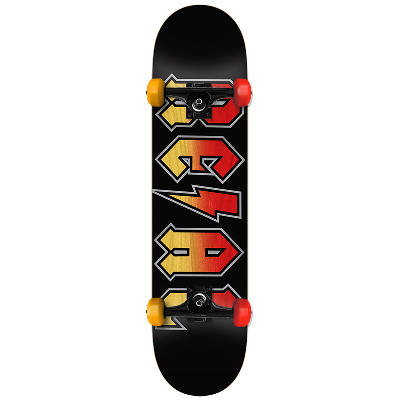 Real Deeds Fade Large Complete Skateboard 8.0