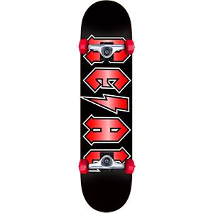 Real Deeds Metallics LG Complete Skateboard 8.0