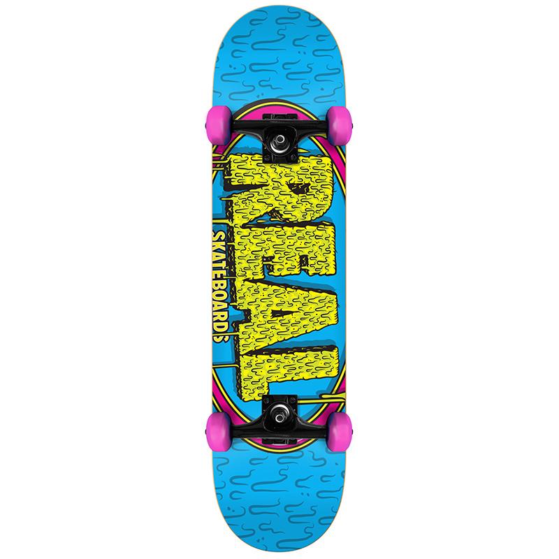 Real Dripstick SM Mini Complete Skateboard 7.5