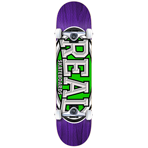 Real Dropouts Mini Complete Skateboard 7.38