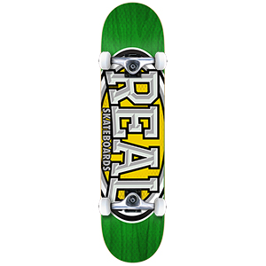 Real Dropouts Small Complete Skateboard 7.5