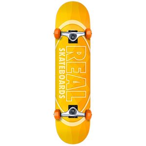 Real New Light Small Complete Skateboard 7.5