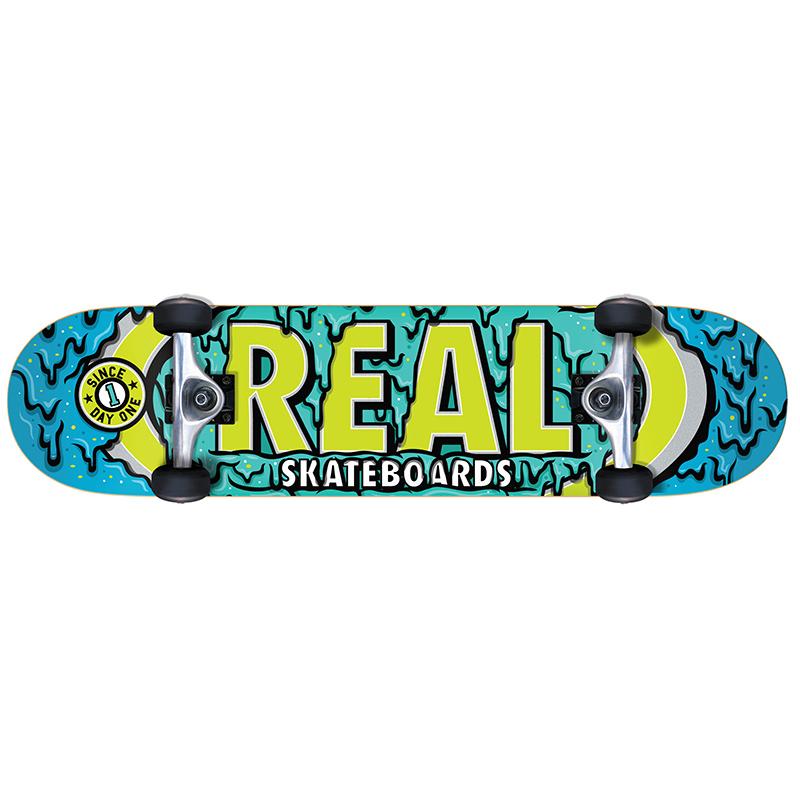 Real Ooze Oval Sm Complete Skateboard 7.5