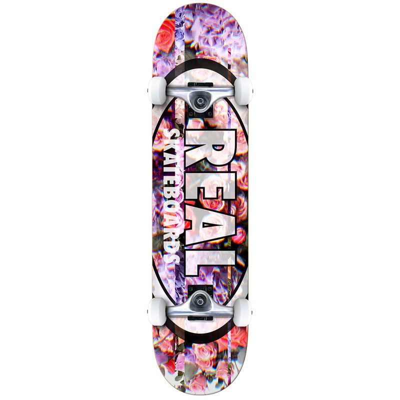 Real Oval Glitch LG Complete Skateboard 8.0