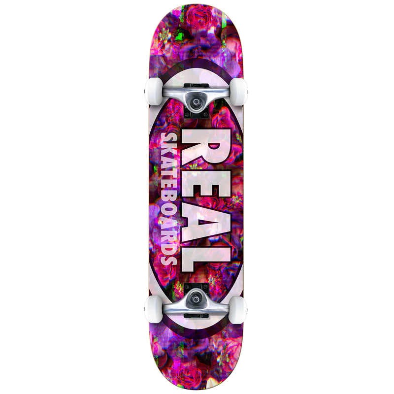 Real Oval Glitch MD Complete Skateboard 7.75