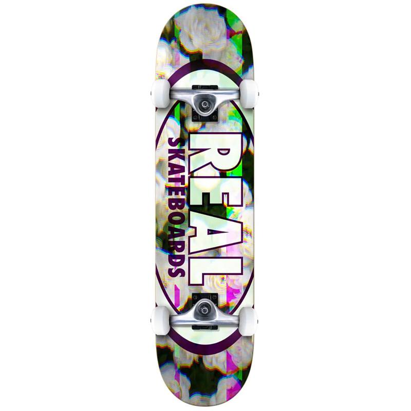 Real Oval Glitch SM Complete Skateboard 7.5