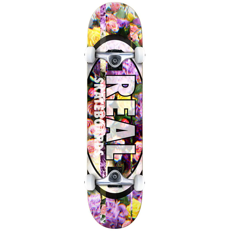 Real Oval Glitch XL Complete Skateboard 8.25
