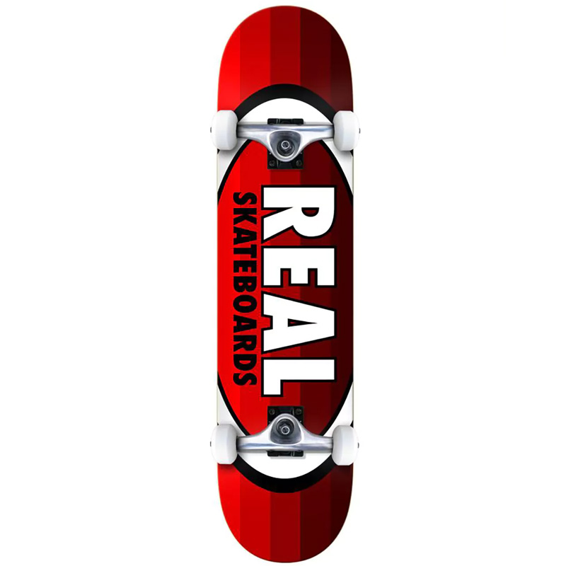 Real Oval Stripes MD Complete Skateboard 7.75