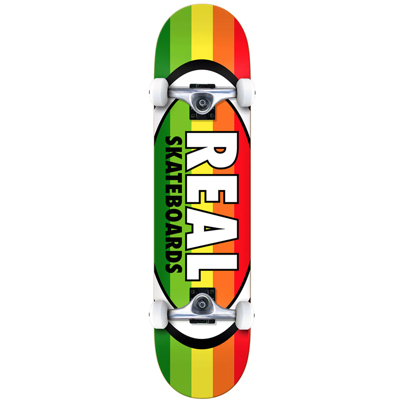 Real Oval Stripes XL Complete Skateboard 8.25