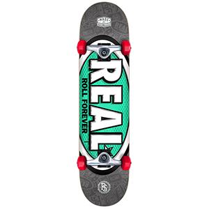 Real Oval Tones Large Complete Skateboard 8.0