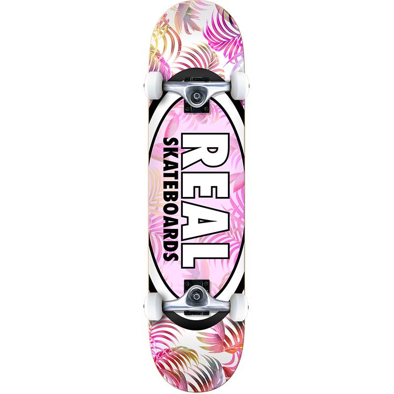 Real Oval Tropics LG Complete Skateboard 8.0
