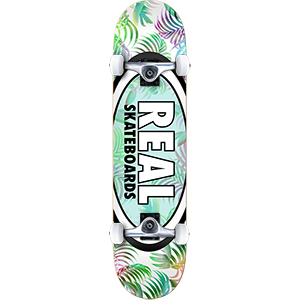 Real Oval Tropics MD Complete Skateboard 7.75