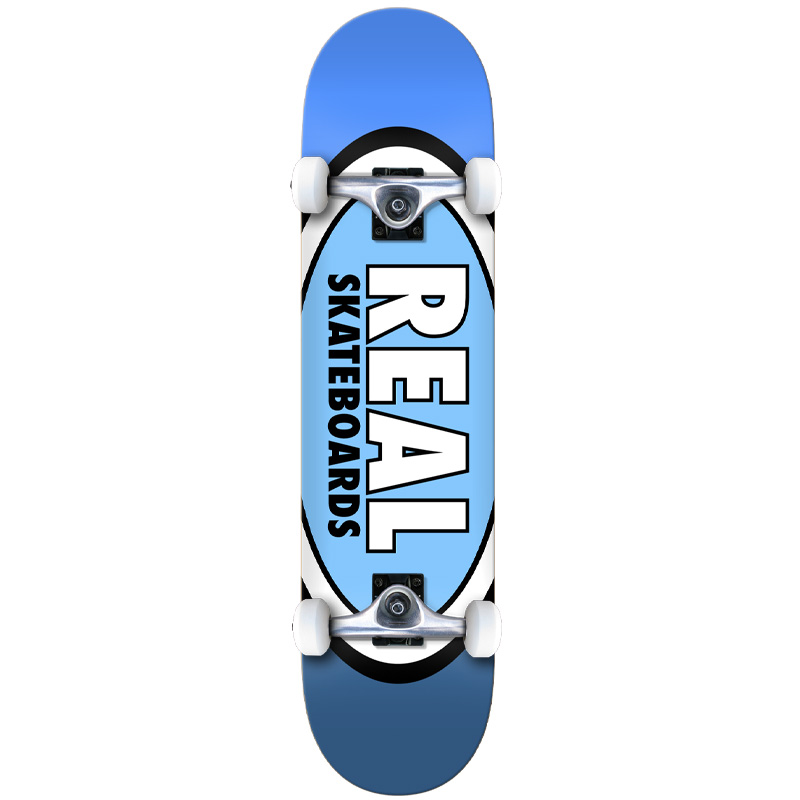 Real Team Edition Oval LG Complete Skateboard 8.0
