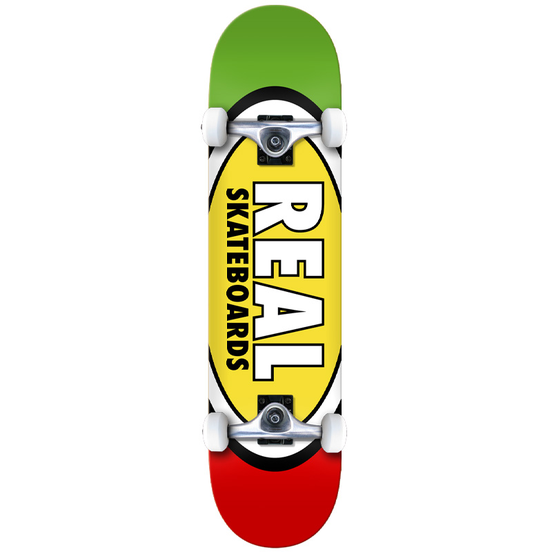 Real Team Edition Oval XL Complete Skateboard 8.25