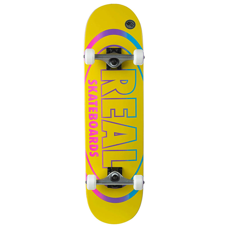 Real Team Oval Gleams XL Complete Skateboard 8.25