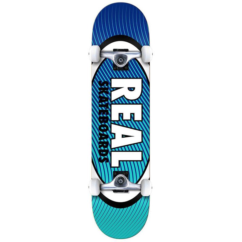 Real Team Oval Heatwave LG Complete Skateboard 8.0