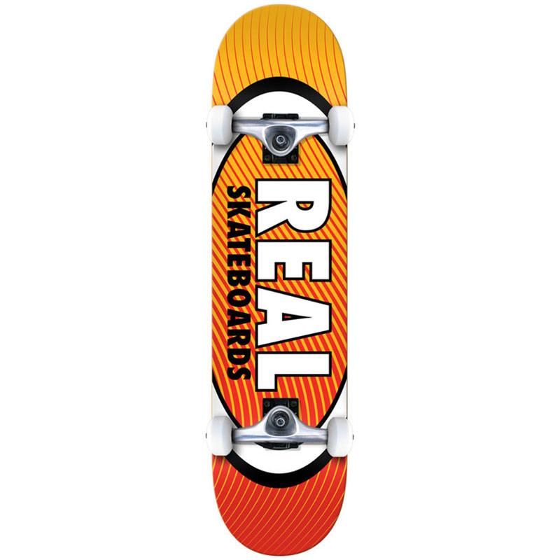 Real Team Oval Heatwave MD Complete Skateboard 7.75