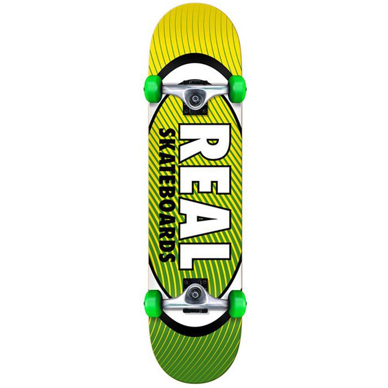 Real Team Oval Heatwave SM Complete Skateboard 7.5