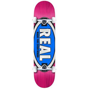 Real Team Ovals Medium Complete Skateboard 7.75