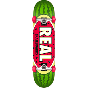 Real Team Watermelon SM Complete Skateboard 7.5