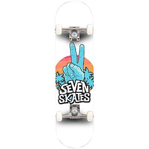 Seven Skates Peace Out Complete Skateboard 8.25