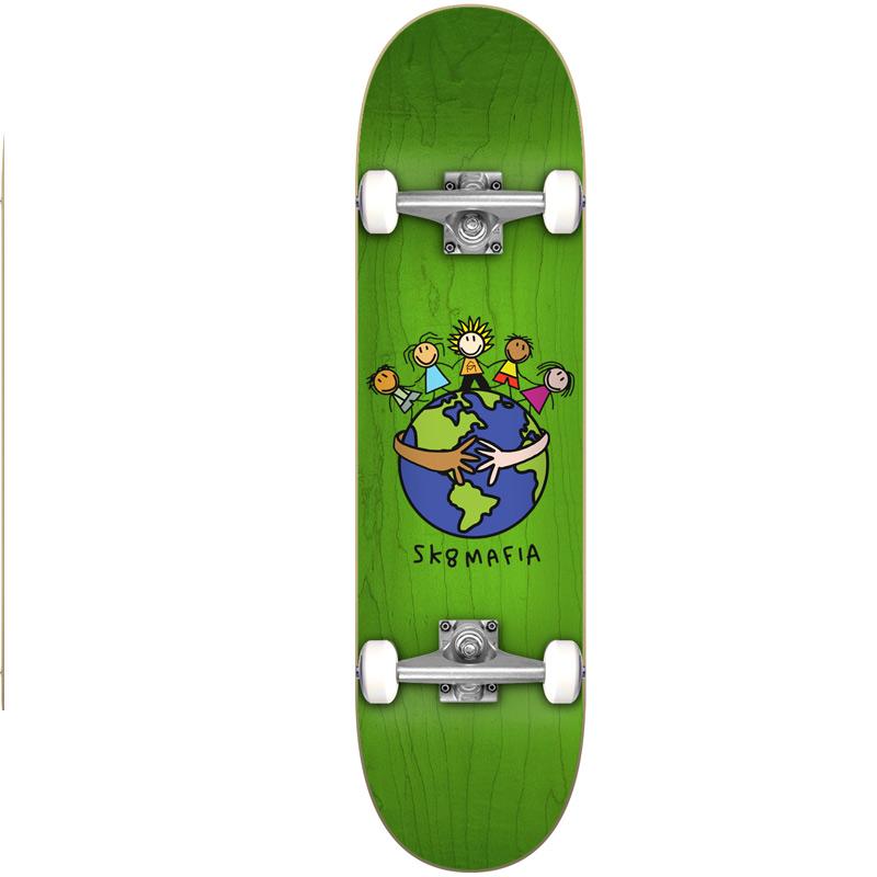 Sk8Mafia World Complete Skateboard 7.75