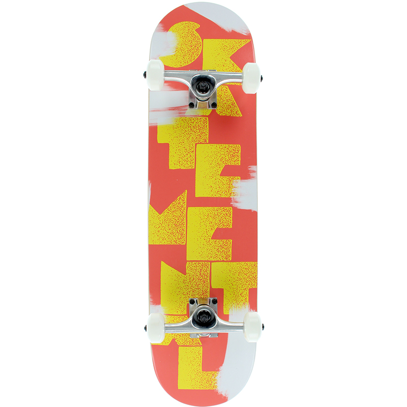 Skate Mental Logo Stack 2 Complete Skateboard 7.7