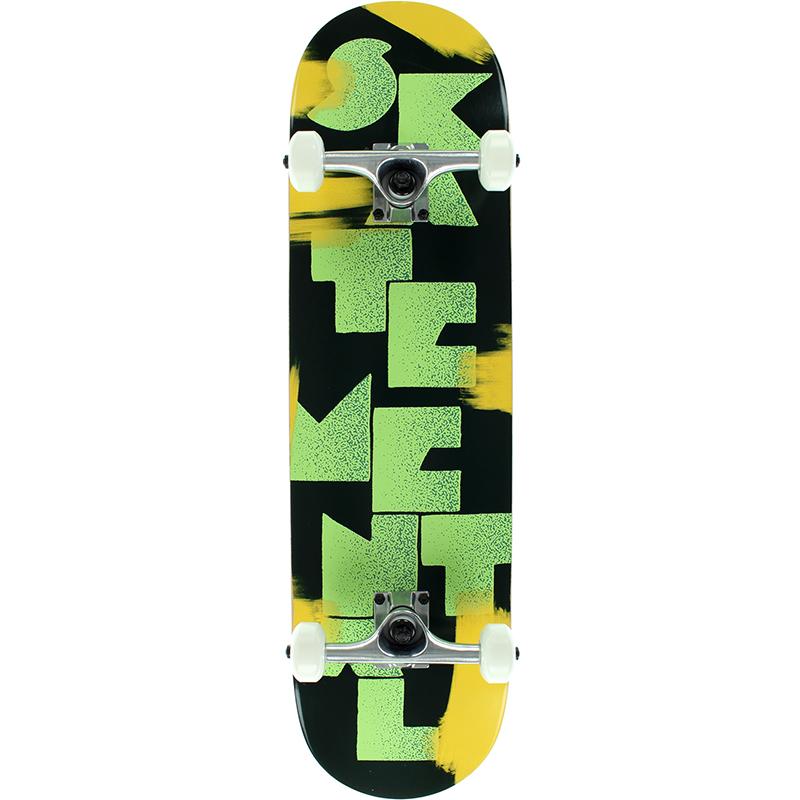 Skate Mental Logo Stack 3 Complete Skateboard 8.0