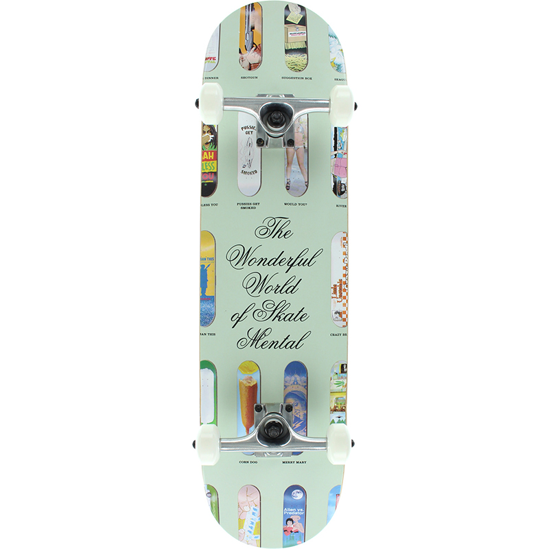 Skate Mental Wonderful World Complete Skateboard 7.75