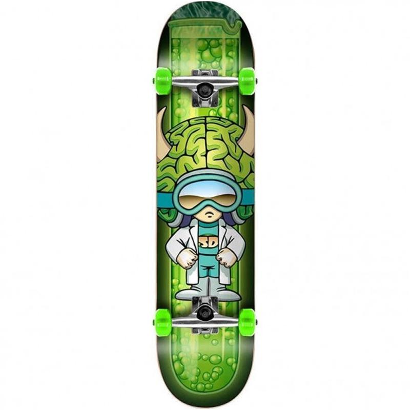 Speed Demons Brainiac Complete Skateboard 7.75