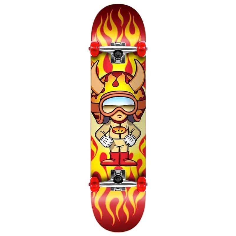 Speed Demons Hot Shot Complete Skateboard 7.5