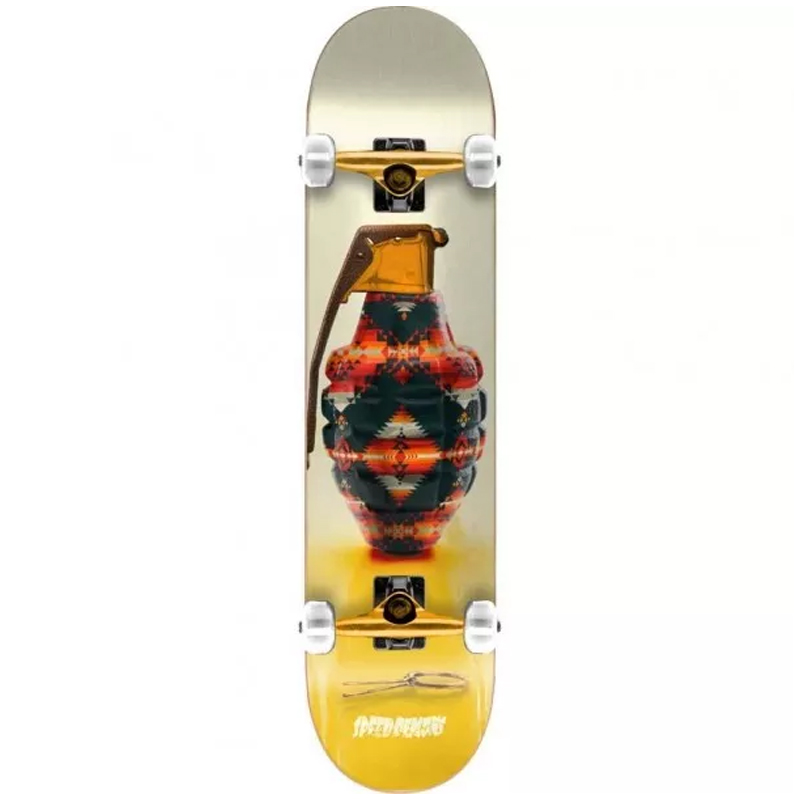 Speed Demons Snazzy Navajo Complete Skateboard 7.75