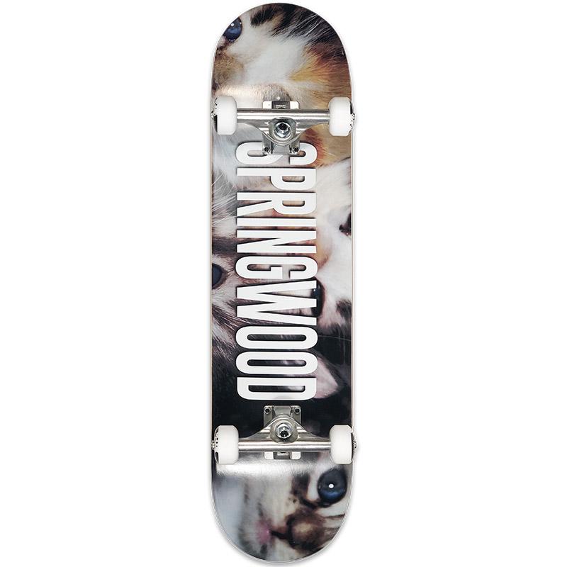 Springwood Kittens Complete Skateboard 7.875