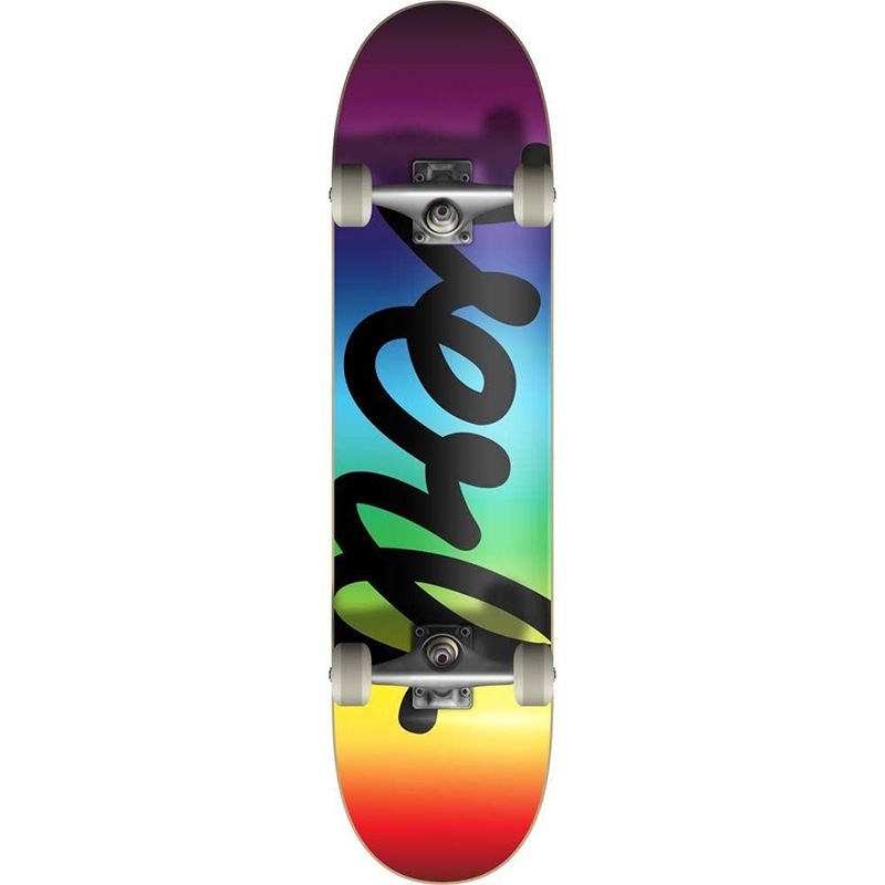 Verb Spectrum Pushing Forward Complete Skateboard Black 7.75