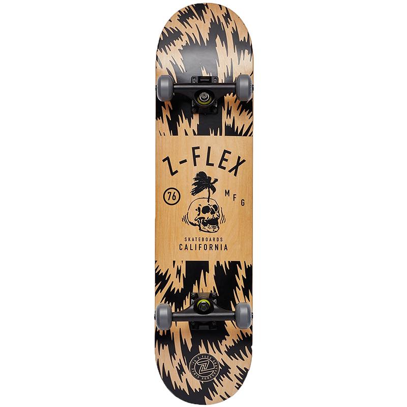 Z-Flex Palm Skull Complete Skateboard 7.75